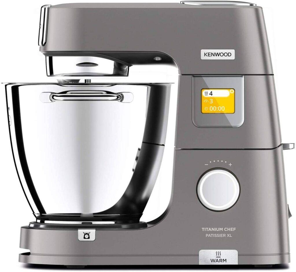 Avis et test Kenwood Titanium Chef Pâtissier XL KWL90.034SI Multifonction