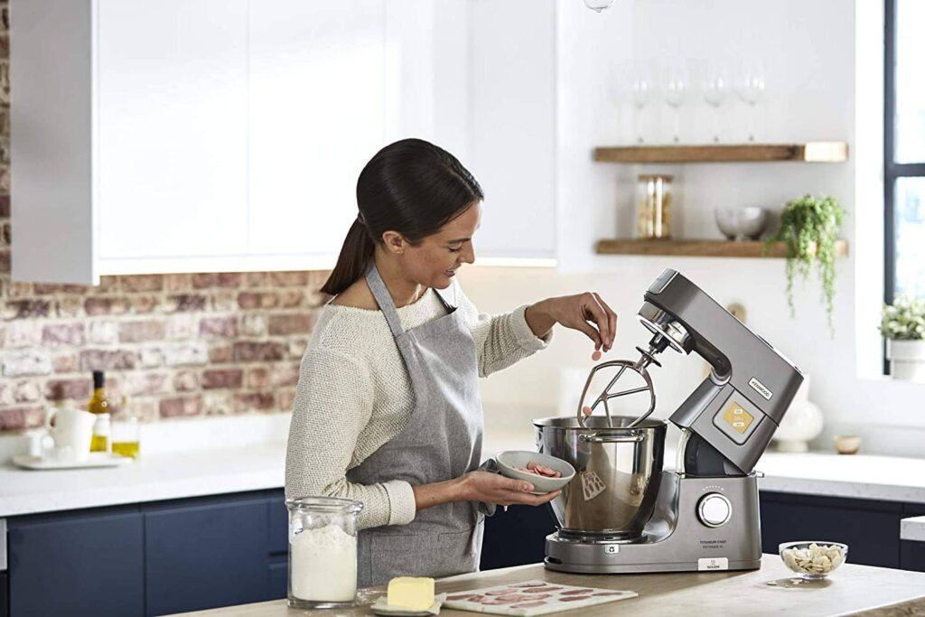 Prise en main du robot multifonctions Kenwood Titanium Chef Pâtissier XL