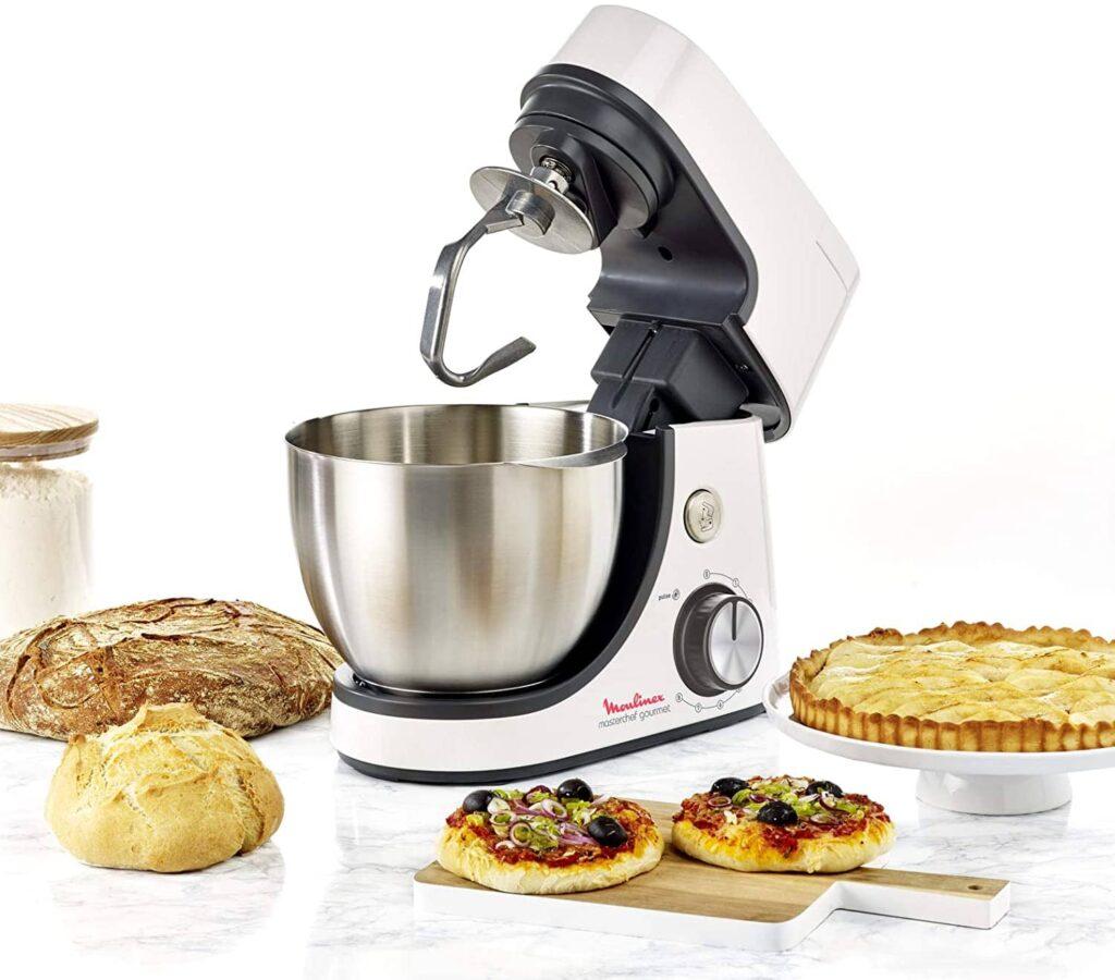 Fiche technique du robot pâtissier Moulinex Masterchef