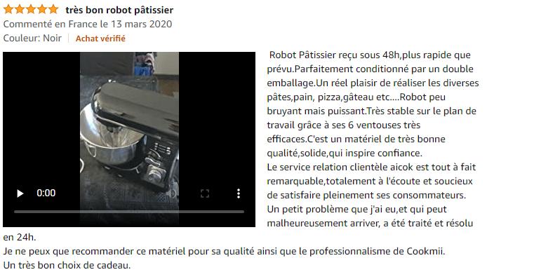 très bon robot patissier Aicok
