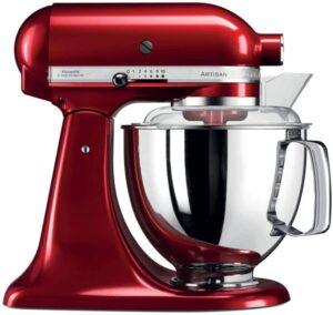 robot pâtissier KitchenAid Artisan rouge