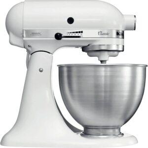 """Kitchenaid 5K45SSEWH Série """"Classic"""" Robot patissier"""
