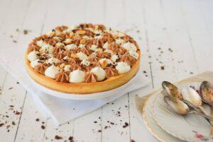 La Tarte Vanille-Chocolat-Caramel