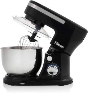Robot Pâtissier Tristar MX-4837 noir - 4 L - 1000 W - 6 vitesses