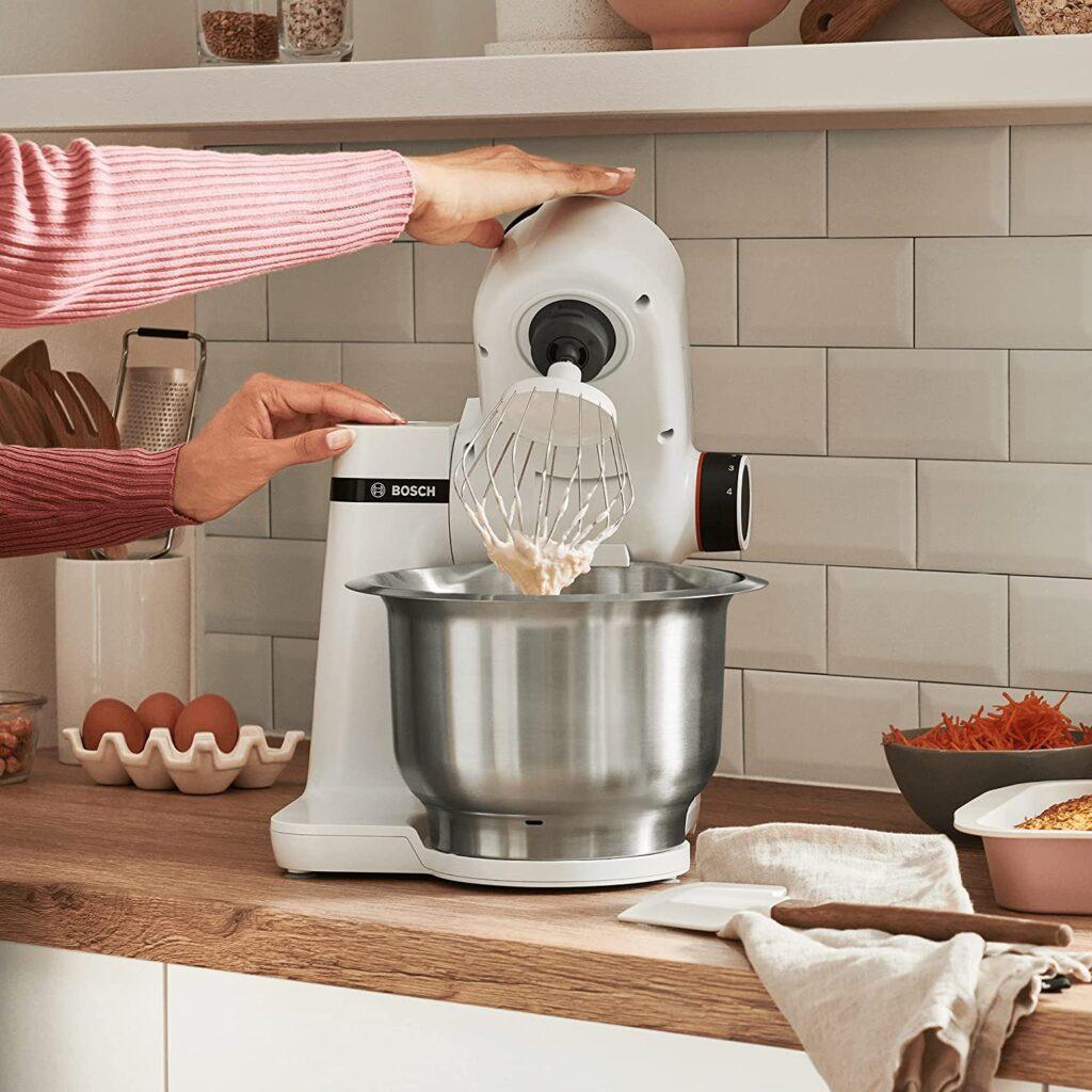 Robot pâtissier Bosch Préparation crème