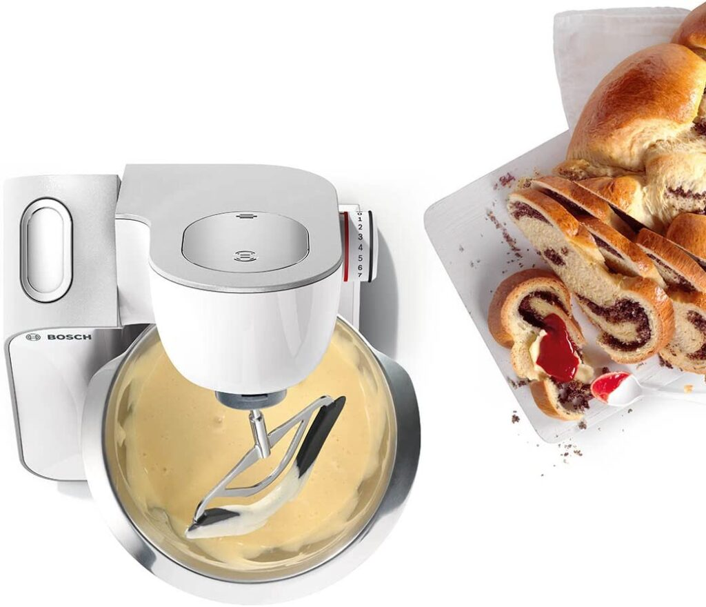 Robot pâtissier Bosch préparation brioche