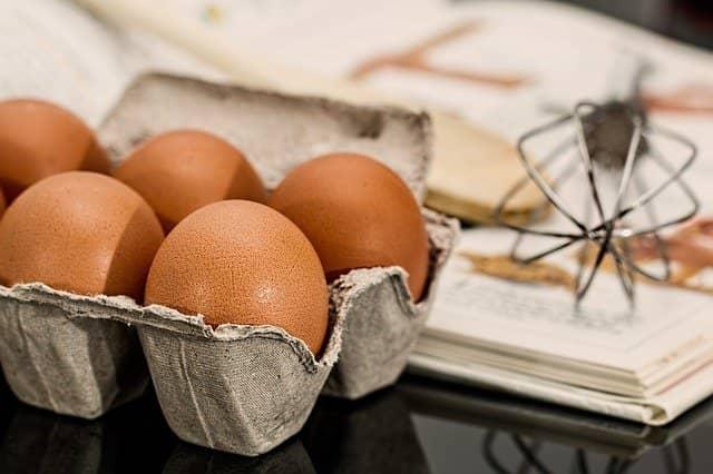 œufs pâtisserie